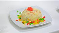 طريقة عمل ارز بالجبنة و المايونيز مع نجلاء الشرشابي في علي قد الأيد