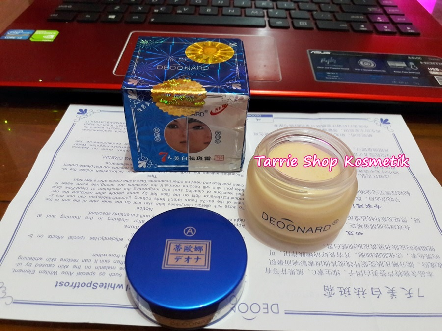 Cream A Siang Day Cream Deoonard 7 Days Asli
