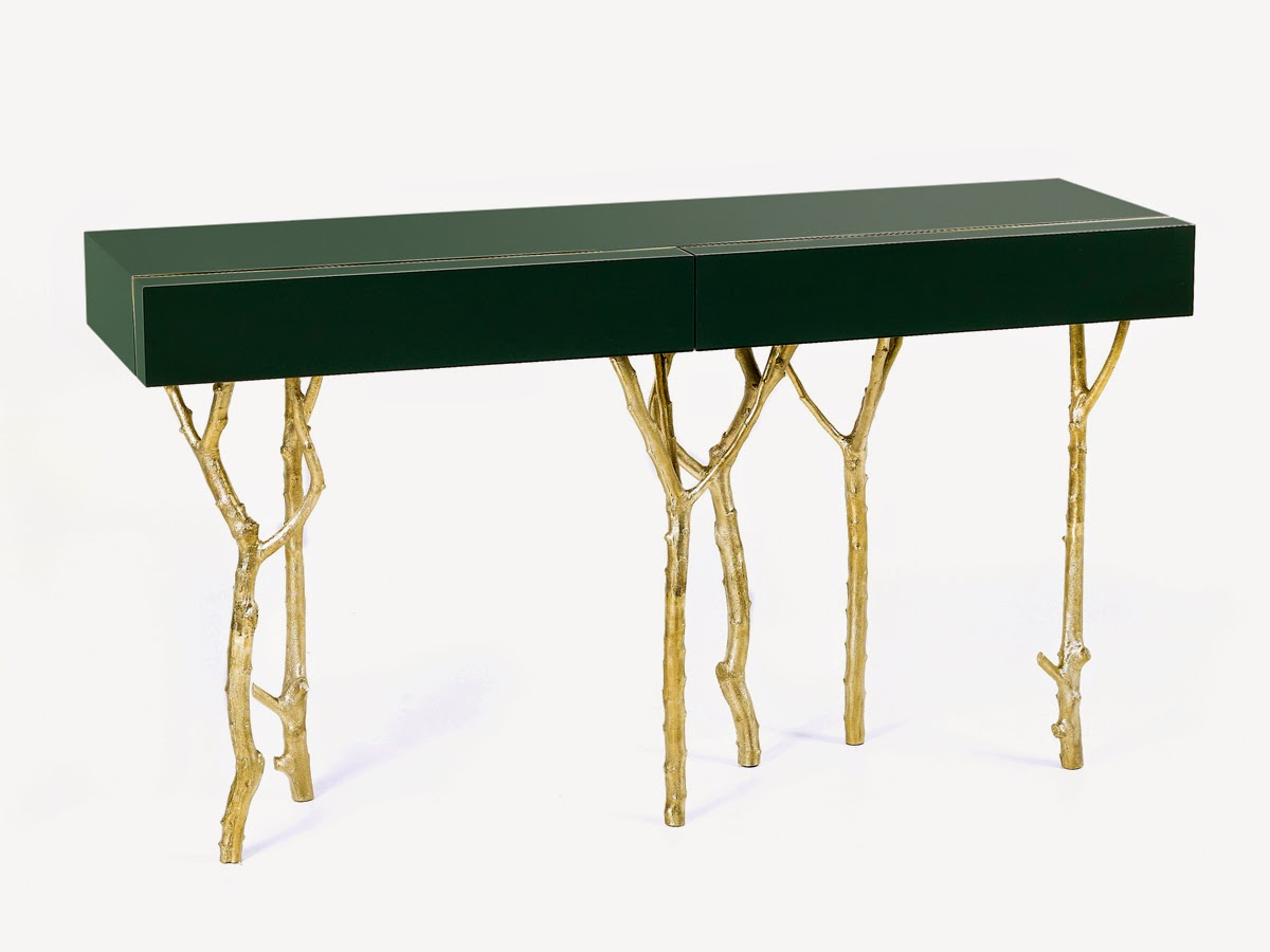 Darya Girina Interior Design Branches And Trunks In