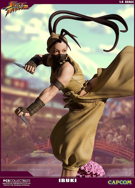 """Street Fighter"" Ibuki Ultra Statue Series"