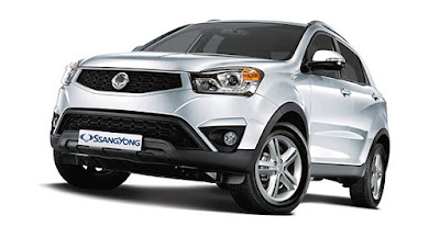 New 2017 SsangYong Korando C wallpaper