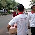 Bagikan Takjil Jelang Buka Puasa, Pengurus Perindo Tangsel Kompak Turun ke Jalan