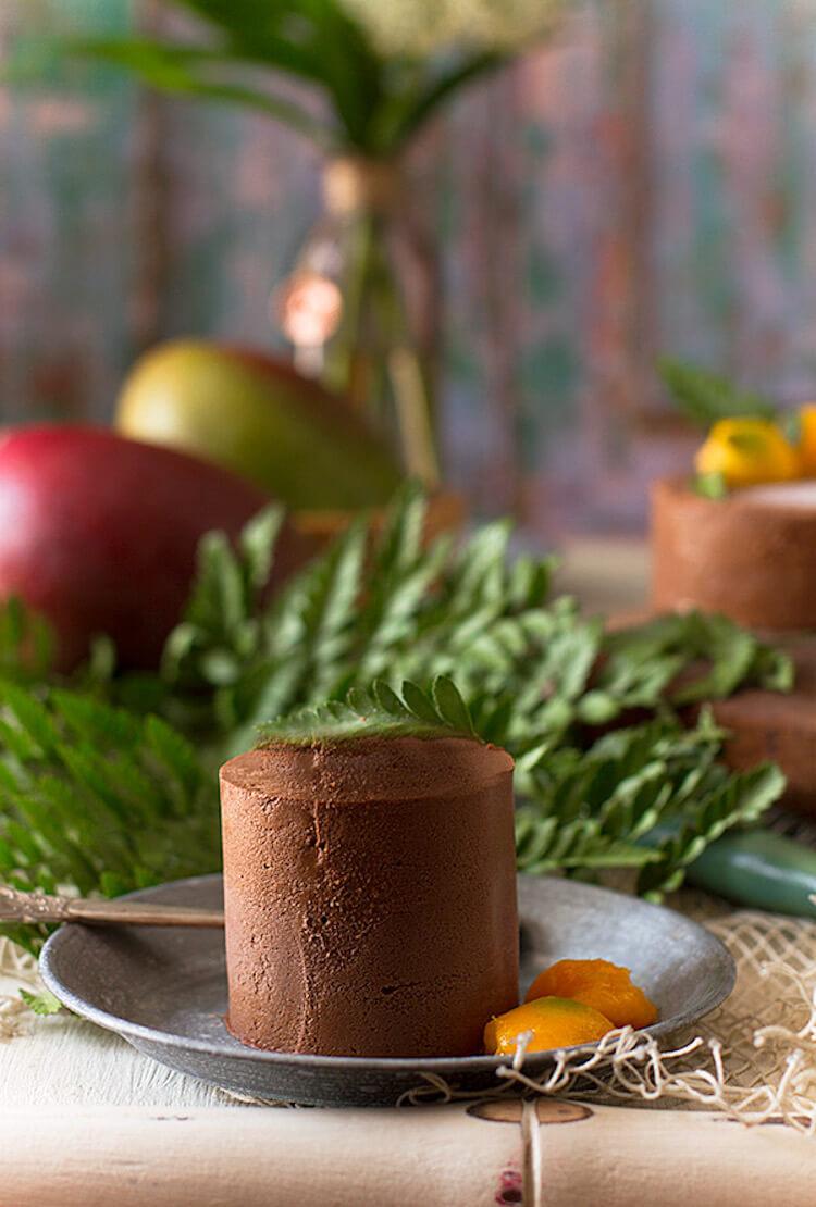 Mousse de chocolate perfecta y rápida