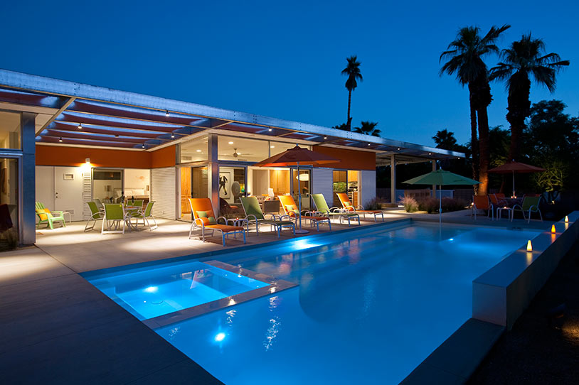 Luxury Life Design Glass And Steel House In Palm Beach