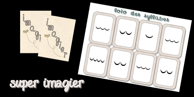 Super Imagier La classe de Laurène  Montessori School