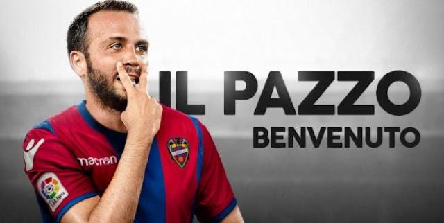 Pazzini si trasferisce in Spagna.