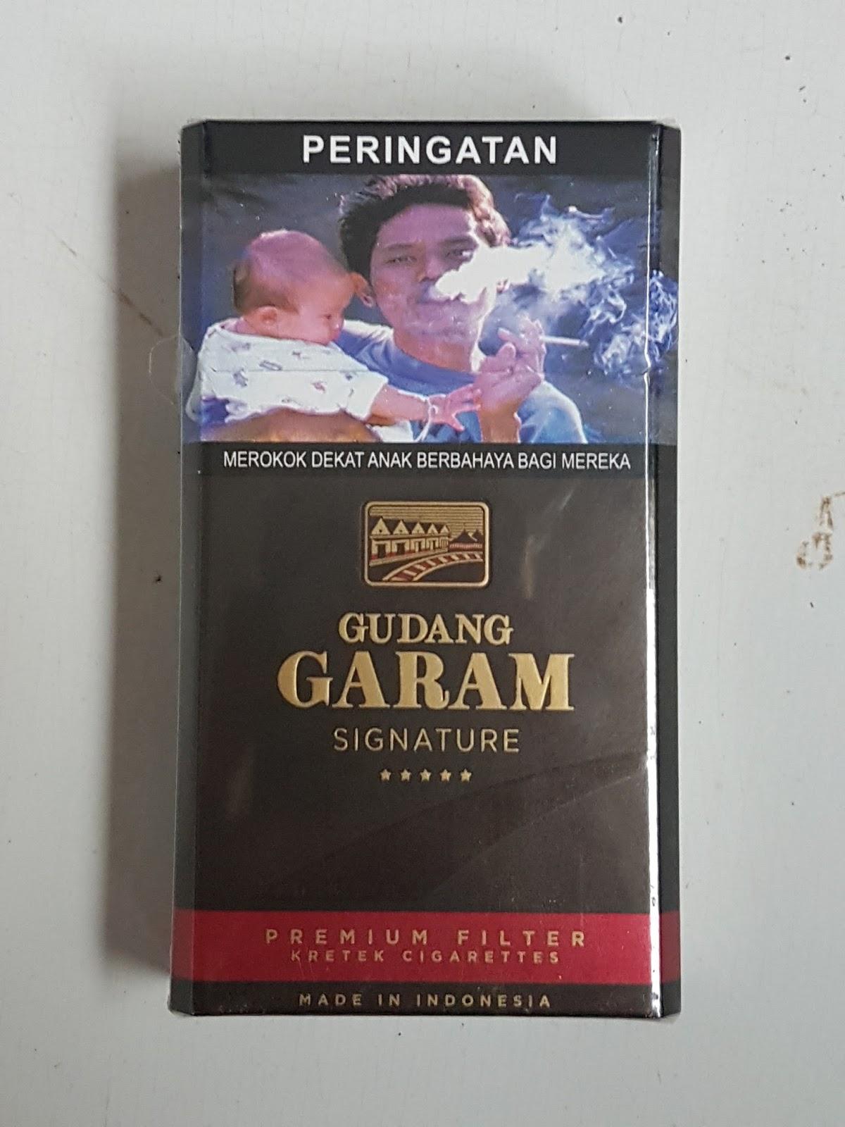 Gudang Garam Signature, SKM Full Flavor Ukuran King Size