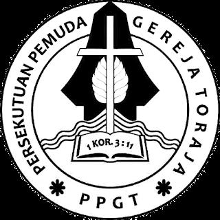 Logo PPGT Hitam Putih Transparan