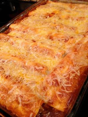 Cheesy 5-Star Enchiladas Recipe