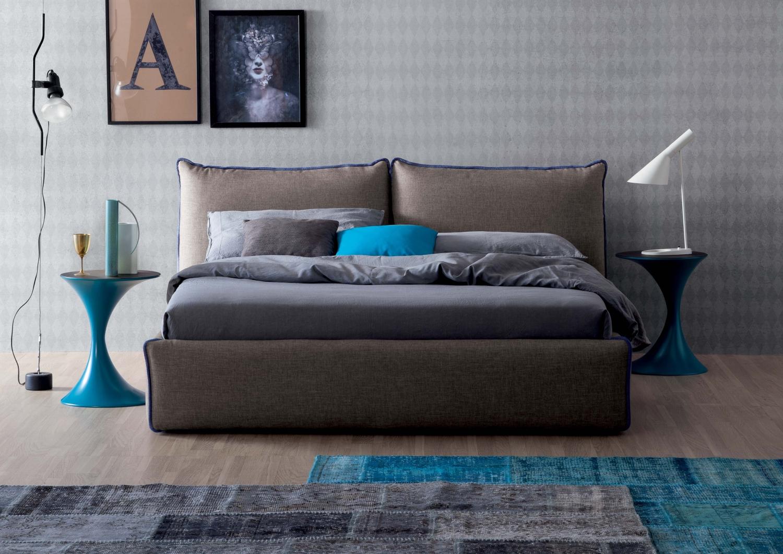 Marvelous Joy upholstered bed by Tonin Casa