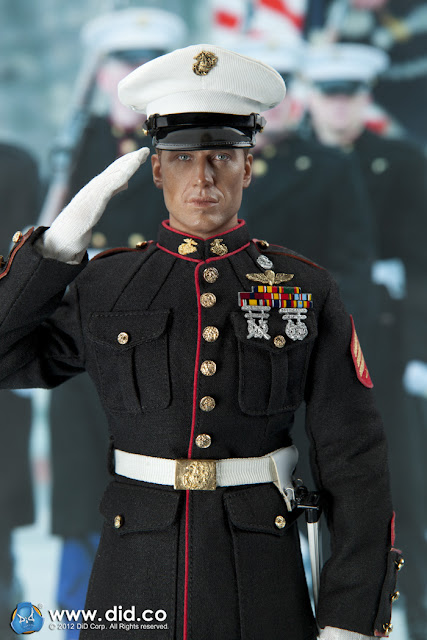 toyhaven: Preview: DID 1/6 United States Marine Corps Dress