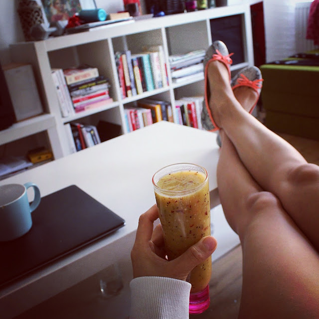 śniadaniowy koktajl