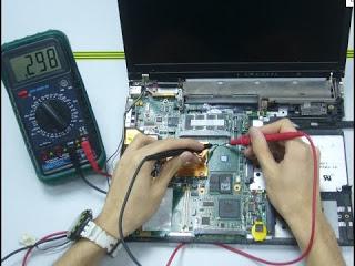 إصلاح حاسوب لا يشتغل