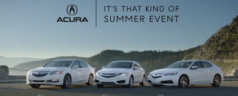 Hurry Into Findlay Acura For Special Summer Offers On The Entire Lineup Including Ilx Tlx And Rlx