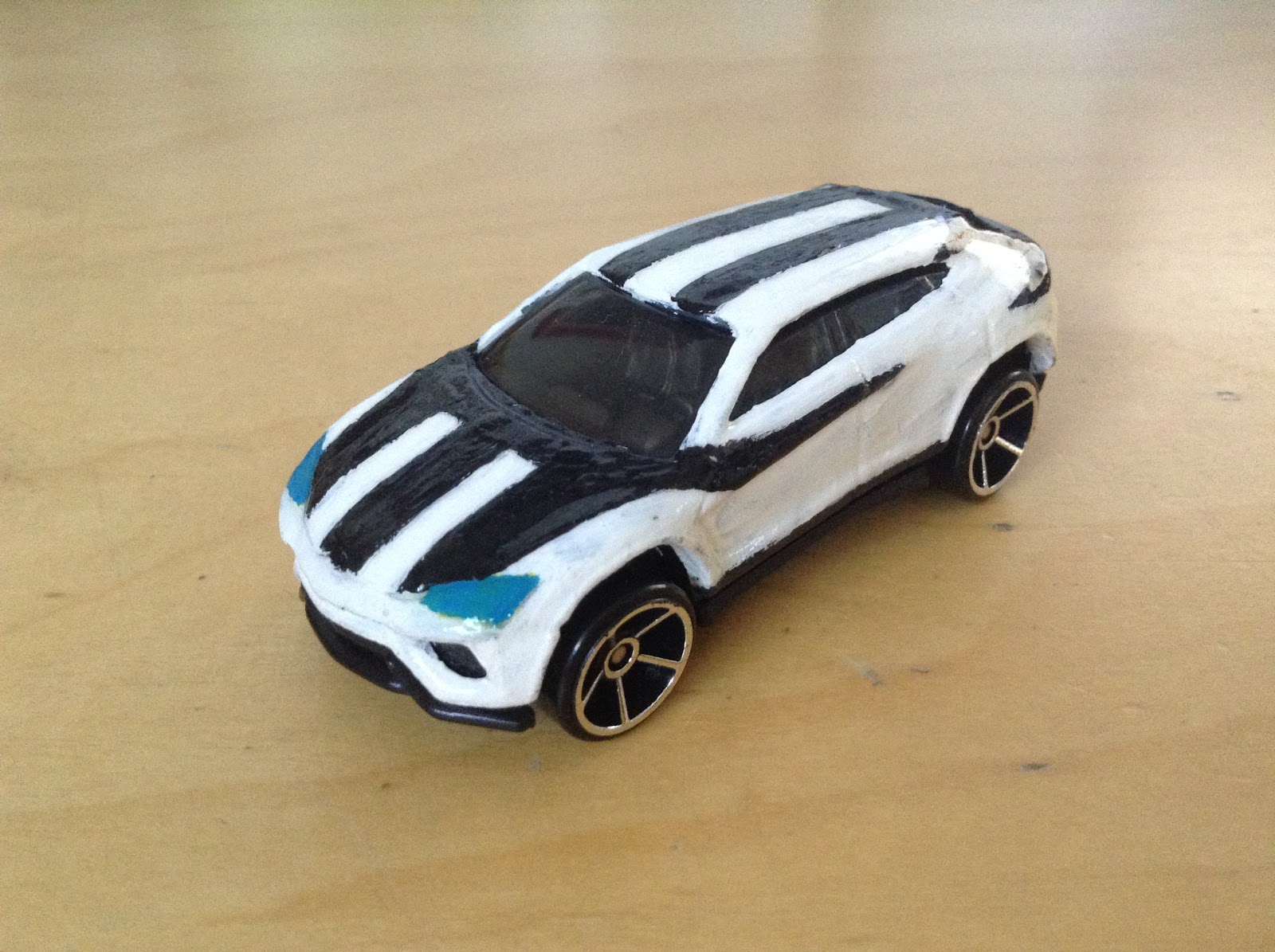 Julian S Hot Wheels Blog Personally Customized Lamborghini Urus