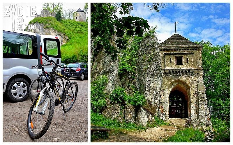 rowery, wycieczka rowerowa, ojcow, ojcowski park narodowy, zamek w ojcowie,  blog, zycie od kuchni, pstrag, pstrag potokowy,