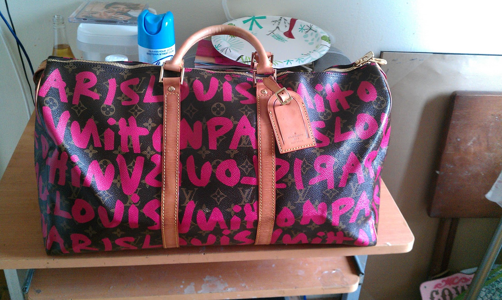 Louis Vuitton Graffiti Bag Replica Ahoy Comics