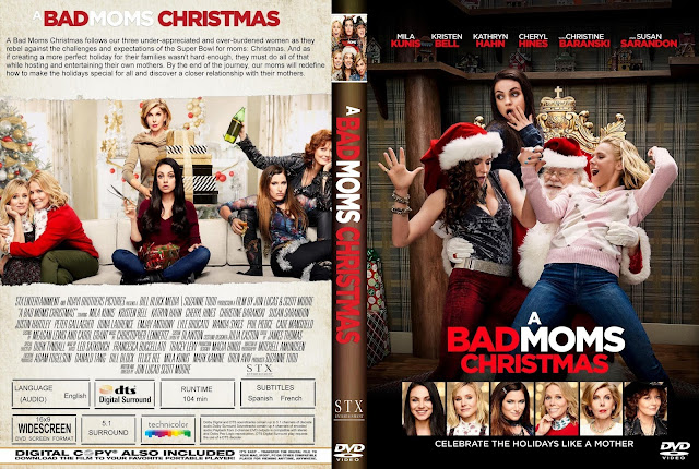 A BAD MOMS CHRISTMAS DVD COVER