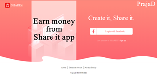 Earn Money from SHAREit, Earn Money from SHAREit app, upload video and earn from SHAREit app