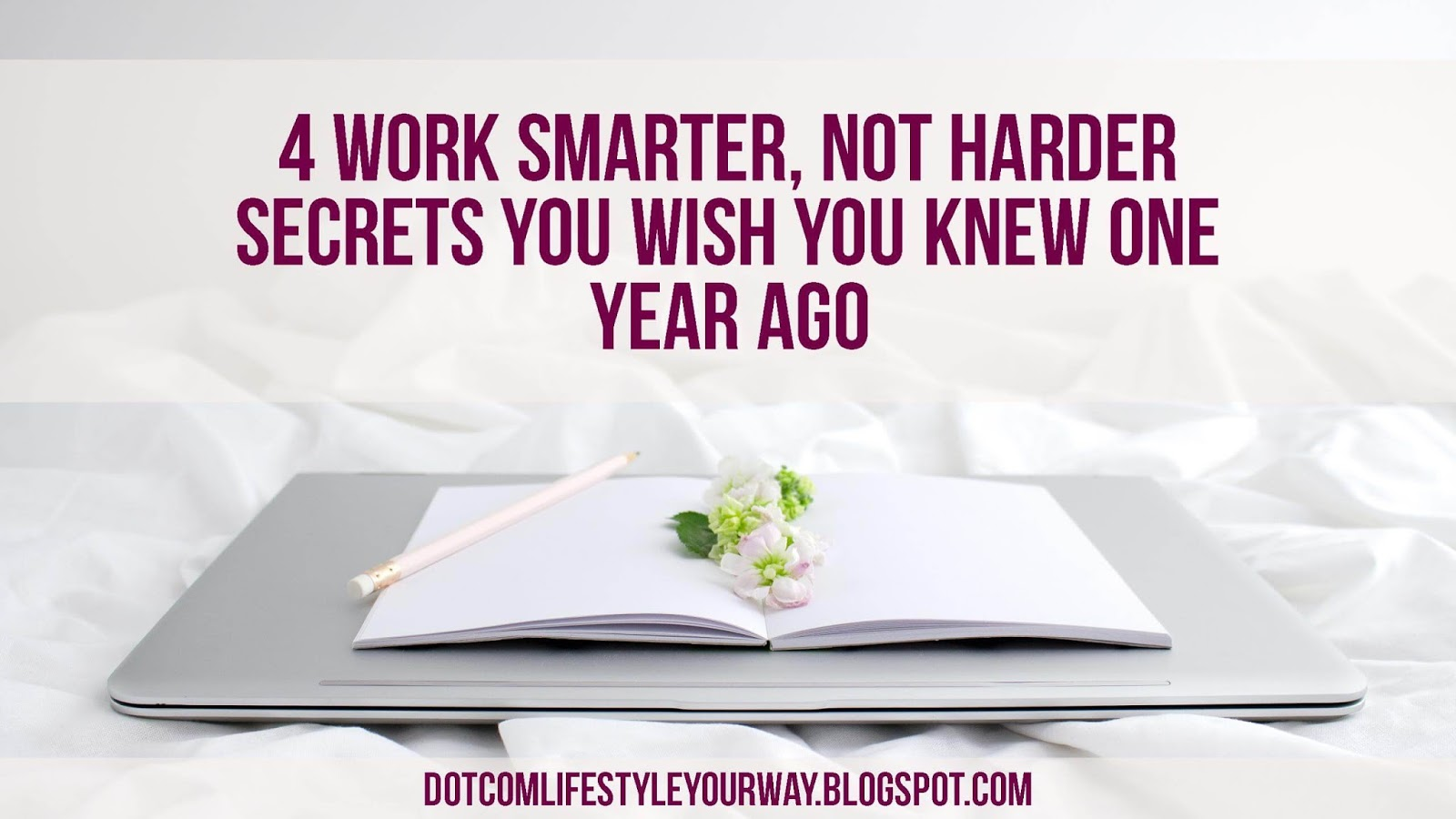 Multitasking, productivity and efficiency are skills we need to be progressive bloggers.Check out these 4 Work Smarter, not Harder Secrets You Wish You Knew One Year Ago and learn how to work smarter, not harder with these easy hacks.