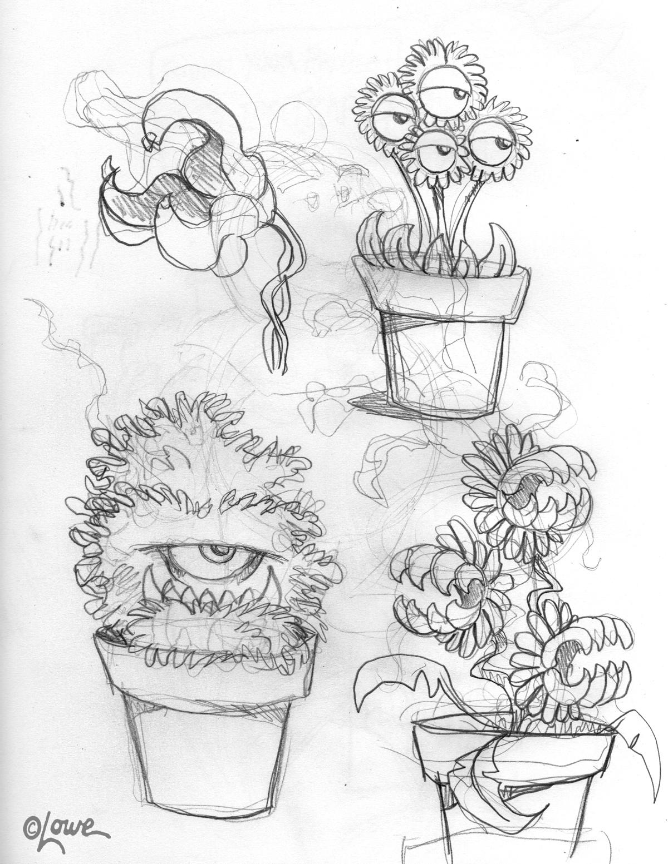 DAVE LOWE DESIGN the Blog: Halloween '12: Fiendish Flowers ...