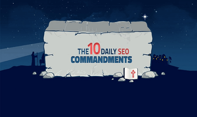 The 10 Commandments of SEO