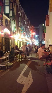 Haji Lane Street By Night