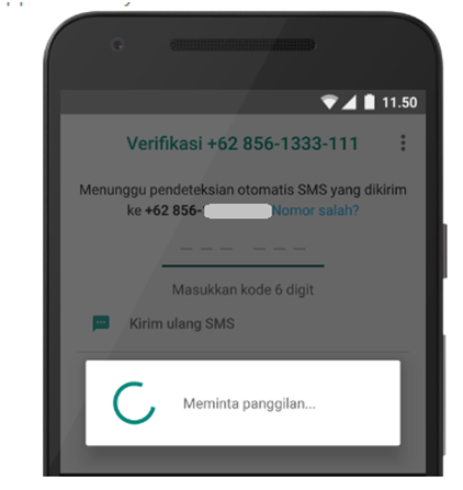 cara atasi gagal verifikasi nomor hp whatsapp