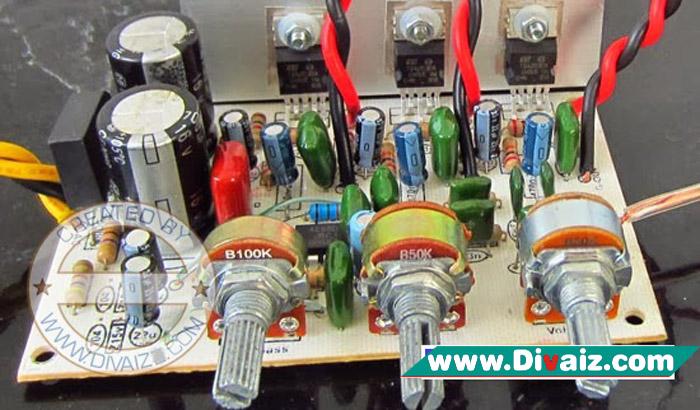 Power Amplifier Untuk Ruangan Suara Jernih dan Bass Mantap