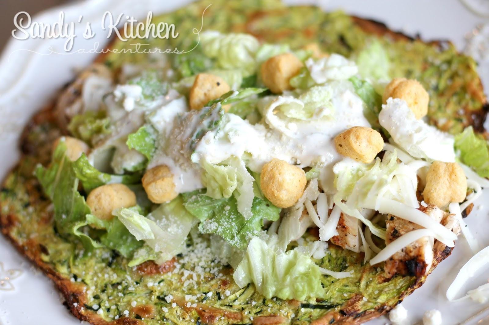 Zucchini Wraps | Sandy\'s Kitchen