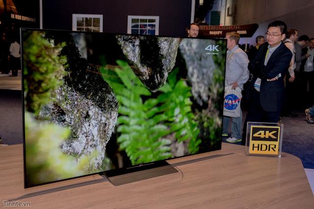 SONY ra mắt Tivi Sony Bravia 4K HDR tại Ces 2016