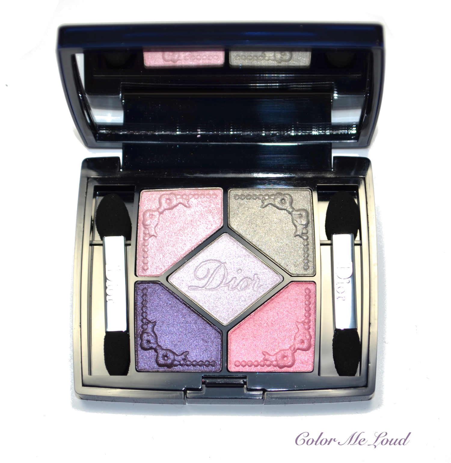 Dior beauty 5 couleurs eyeshadow palette trianon edition.