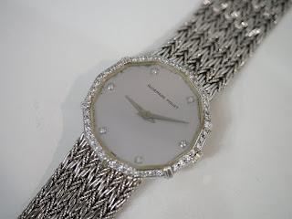 オーデマ・ピゲ 750金無垢腕時計を買取致しました
