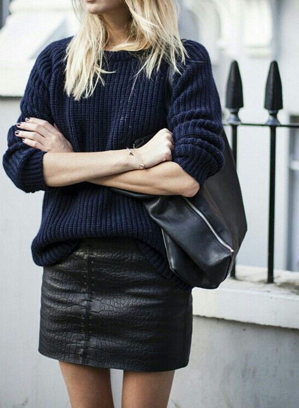 40+ Style Ideas On How To Wear Knit Clothes This season ...