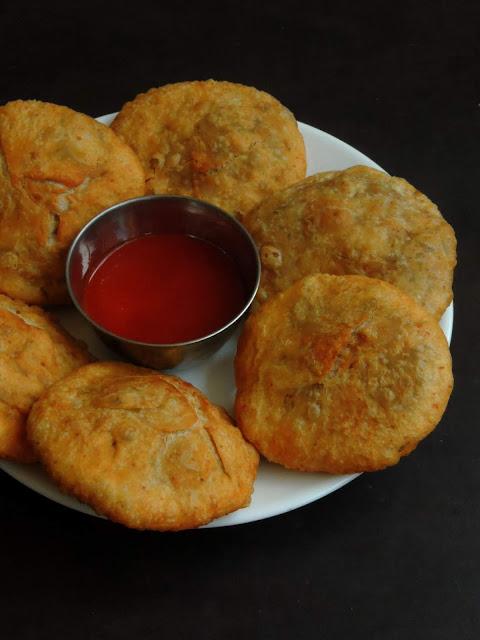 Onion poha Kachori, Pyaaz kachori