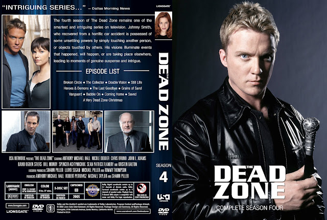 Dead Zone Season 4 DVD Cover