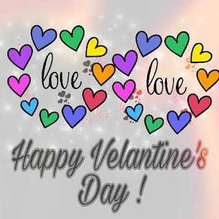 Simple Happy Valentine Day Photo