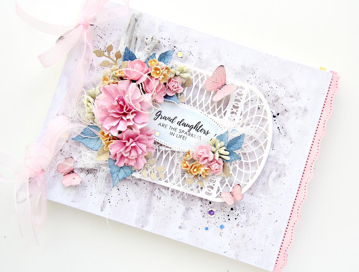 Spellbinders Amazing Paper Grace Die of the Month (March) | Erum Tasneem | @pr0digy0