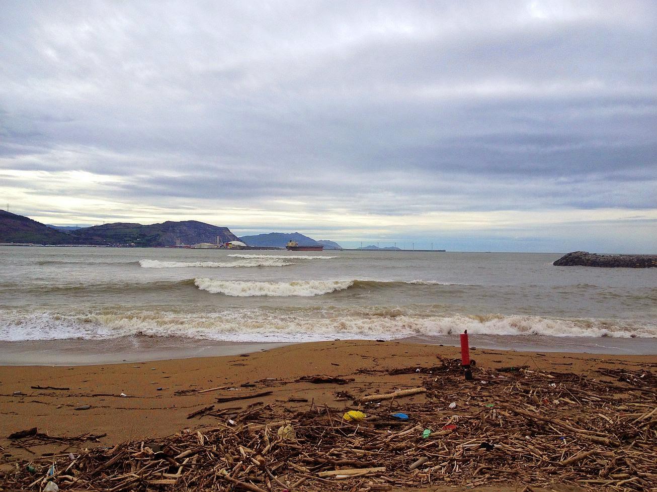 basura en la playa 02