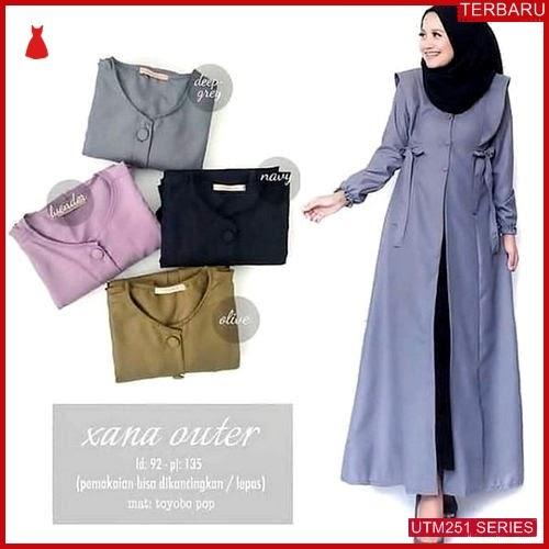 UTM251X48 Baju Xana Muslim Outer UTM251X48 0FB | Terbaru BMGShop