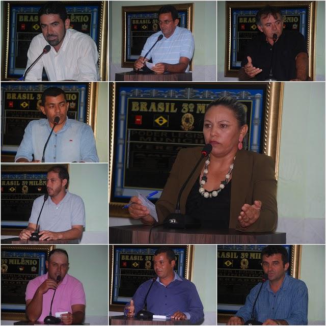 Mensagem da Câmara Municipal de Vereadores, a toda população Amparense