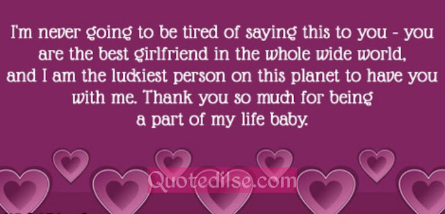sweet message for girl