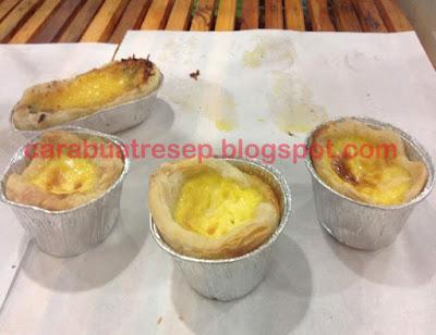 Foto Resep Portuguese Egg Tart Sederhana Spesial Asli Enak Kue Pie Original Portugis Renyah, Lembut dan Empuk