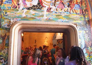 Magic Kingdom Inside Cinderella castle