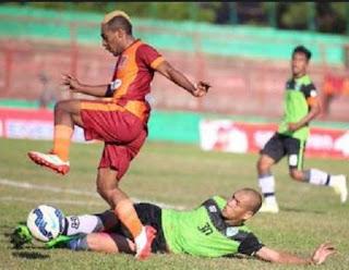 gambar Terens Puhiri (gelandang sayap) Pusamania Borneo FC