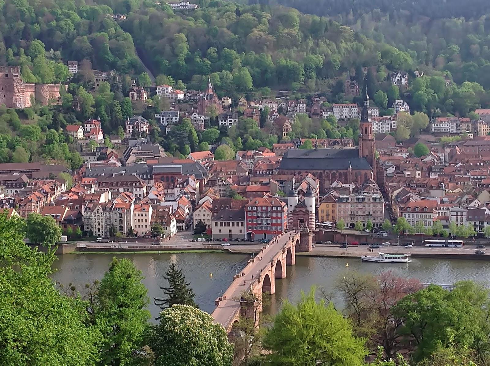 Lange Einkaufsnacht Heidelberg, Panorama Heidelberg