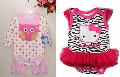 pakaian anak perempuan lucu