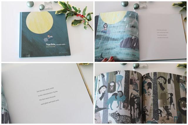 Nachts wenn alles schlaeft Britta Teckentrup Lieblingsbuecher Weihnachten GEschenkidee Prestel Verlag Jules kleines Freudenhaus