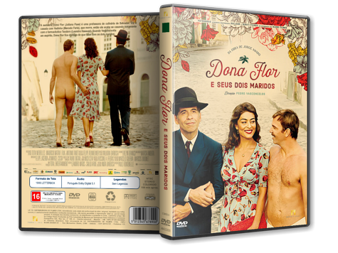 Capa DVD Dona Flor e Seus Dois Maridos [Custom]