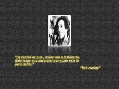 mensaje positivo bob marley